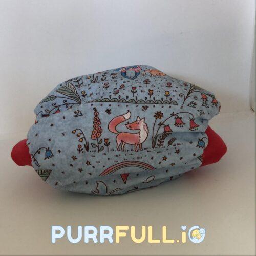Anyavarázs (piros) - csónakos mosható pelenka