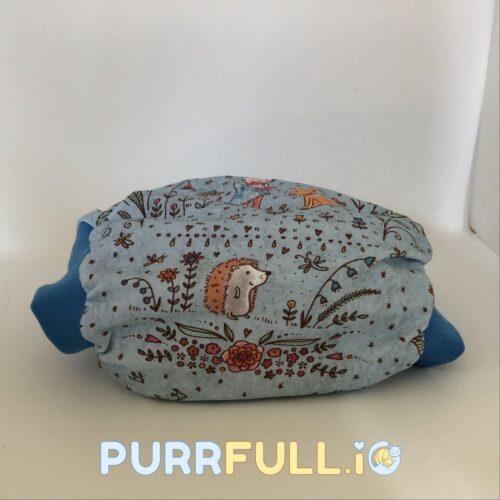 Anyavarázs (kék) - csónakos mosható pelenka